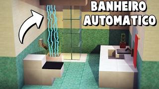 ✔ Minecraft Tutorial - BANHEIRO AUTOMÁTICO 8x8 ‹ MANYA ›