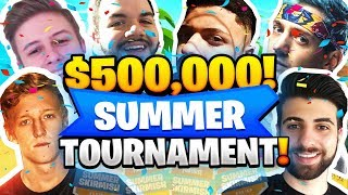 Fortnite $500,000 SOLO Tournament Highlights! (Insane Plays and Funny Moments Week 2)