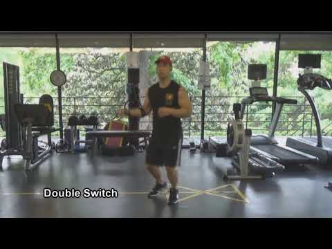 Jump Rope Technique: Double Switch By Tuan Tran @ TI Health and Fitness
