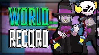 World Record Boss Fight! Most HP left at 8 Minutes!? Brawl Stars