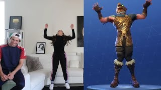 FORTNITE DANCE CHALLENGE IN REAL LIFE!!