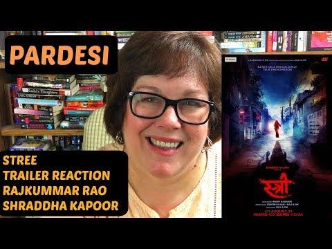 Stree Trailer Reaction | Rajkummar Rao | Shraddha Kapoor