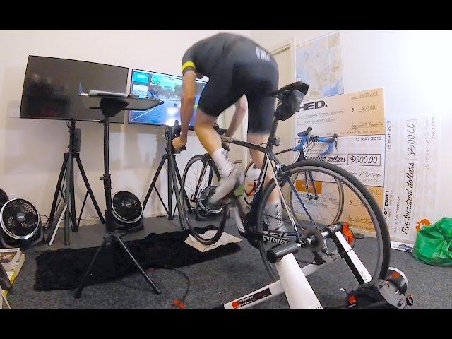 ELITE RAMPA SMART TRAINER: Sprint Testing