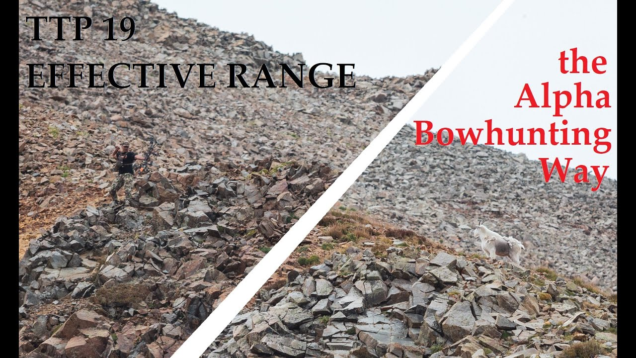 Effective Range   the ALpha Bowhuning Way