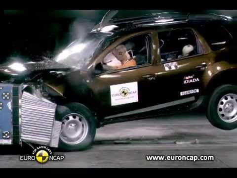 euro ncap dacia duster renault duster nissan terrano 2011 crash test youtube. Black Bedroom Furniture Sets. Home Design Ideas