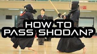 [KENDO RANT] - How to Pass Shodan? Naginata Kote For Kendo?