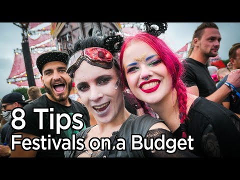 8 Tips on How to Afford Going to Festivals | The Alternative Festival Guide by Coalcandy pt.3