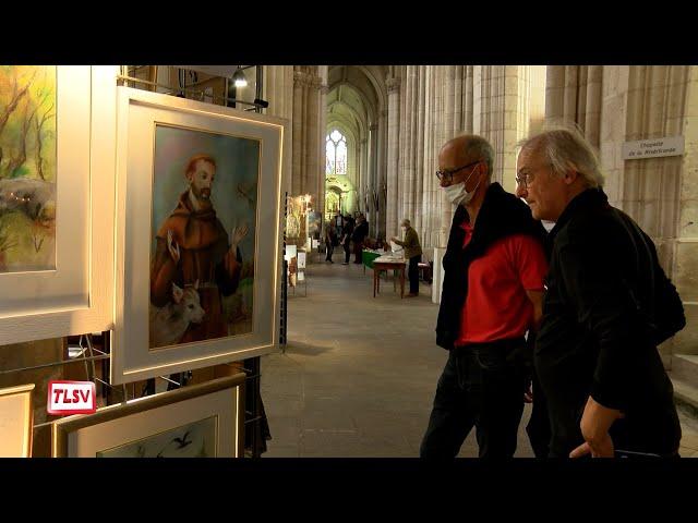 Luçon. La cathédrale a accueilli le manteau de Saint François d'Assise