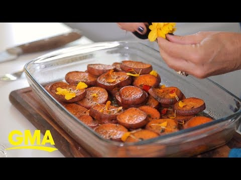 Thanksgiving Guests Will Love These Citrus And Herb Sweet Potatoes More Than Turkey | GMA