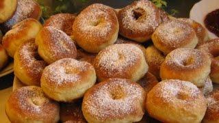 Пончики домашние рецепт классический