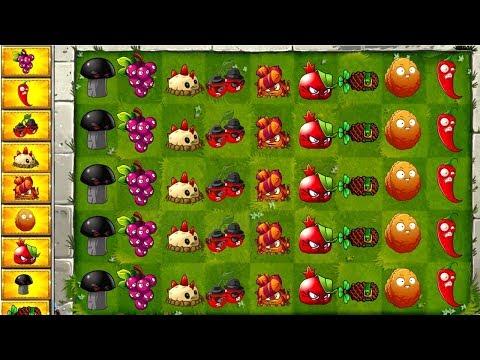 Mega Challenge Plants vs Zombies 2 Cherry , Grapeshot , Potato Mine, Explod - O- Nut, PVZ 2