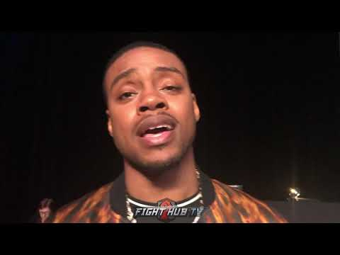 """ERROL SPENCE """"BRONER GOTTA LET HIS HANDS GO! STAY OFF THE ROPES & STAY FOCUSED"""""""