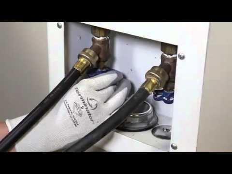 Front Load Washer Hot Cold Inlet Hoses Youtube