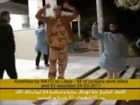 "War on Libya -  NATO USAF ec 130j transmitting ""WARNING"" on 6877 0 khz Libya 20 March 2011"