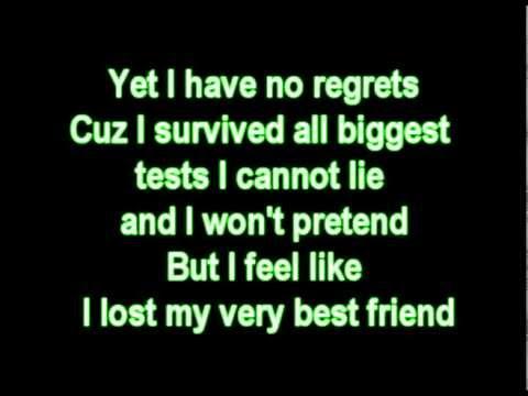 Madonna - Best friend  with lyrics