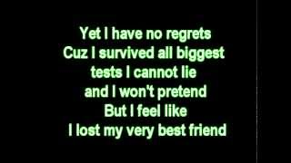 Madonna - Best friend  with lyrics