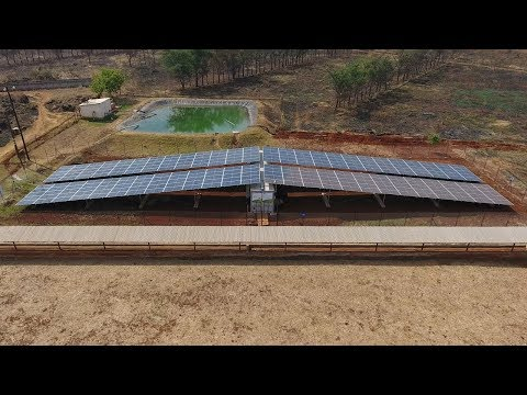 Pilot project in Zambia: PV power plant with battery system for the irrigation of fields