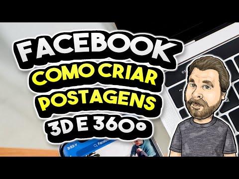 Como Criar Anúncios e Posts 3D e 360º animados no Facebook