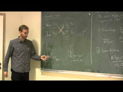 A survey of Univalent Foundations (by Eric Finster, November 13th, 2014)