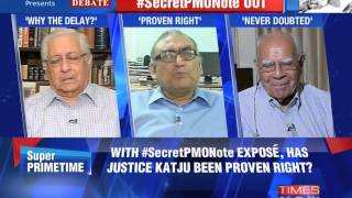 The Newshour Debate: Secret PMO Note out - Part 1 (22nd July 2014)