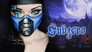 SubZero - Mortal Kombat Makeup Tutorial