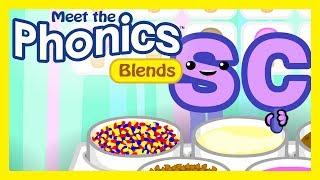 "Meet the Phonics - Blends Preview ""sc"""