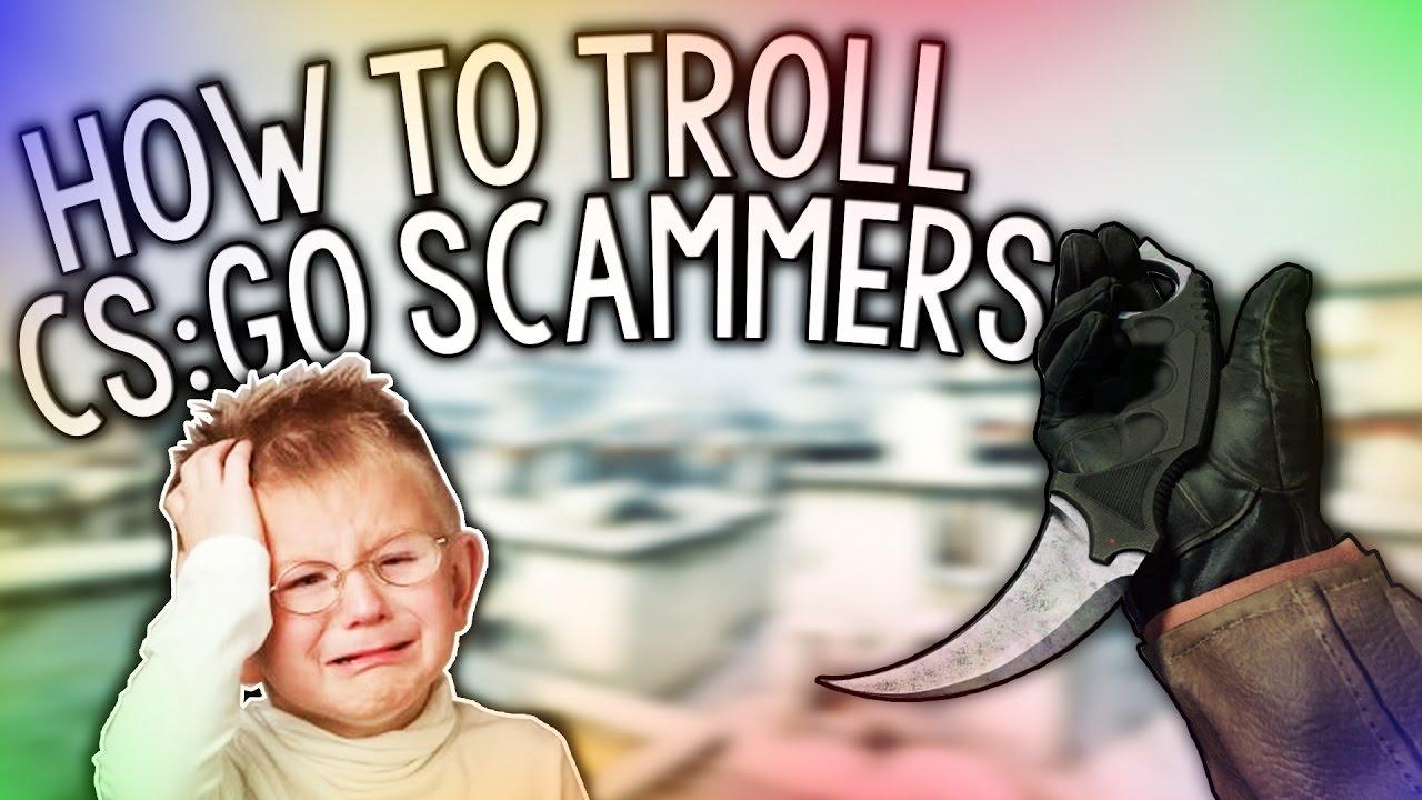 how to scam cs go