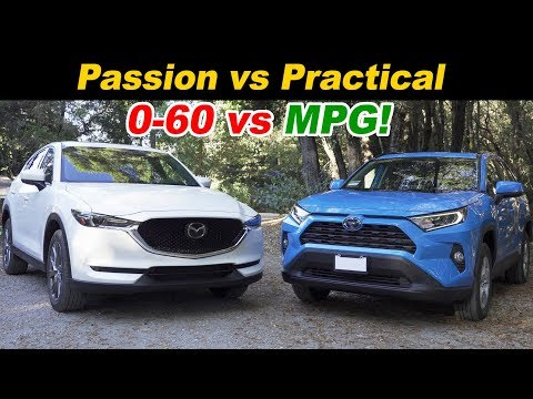 Mazda CX-5 Turbo vs Toyota RAV4 Hybrid | Top Picks Face Off