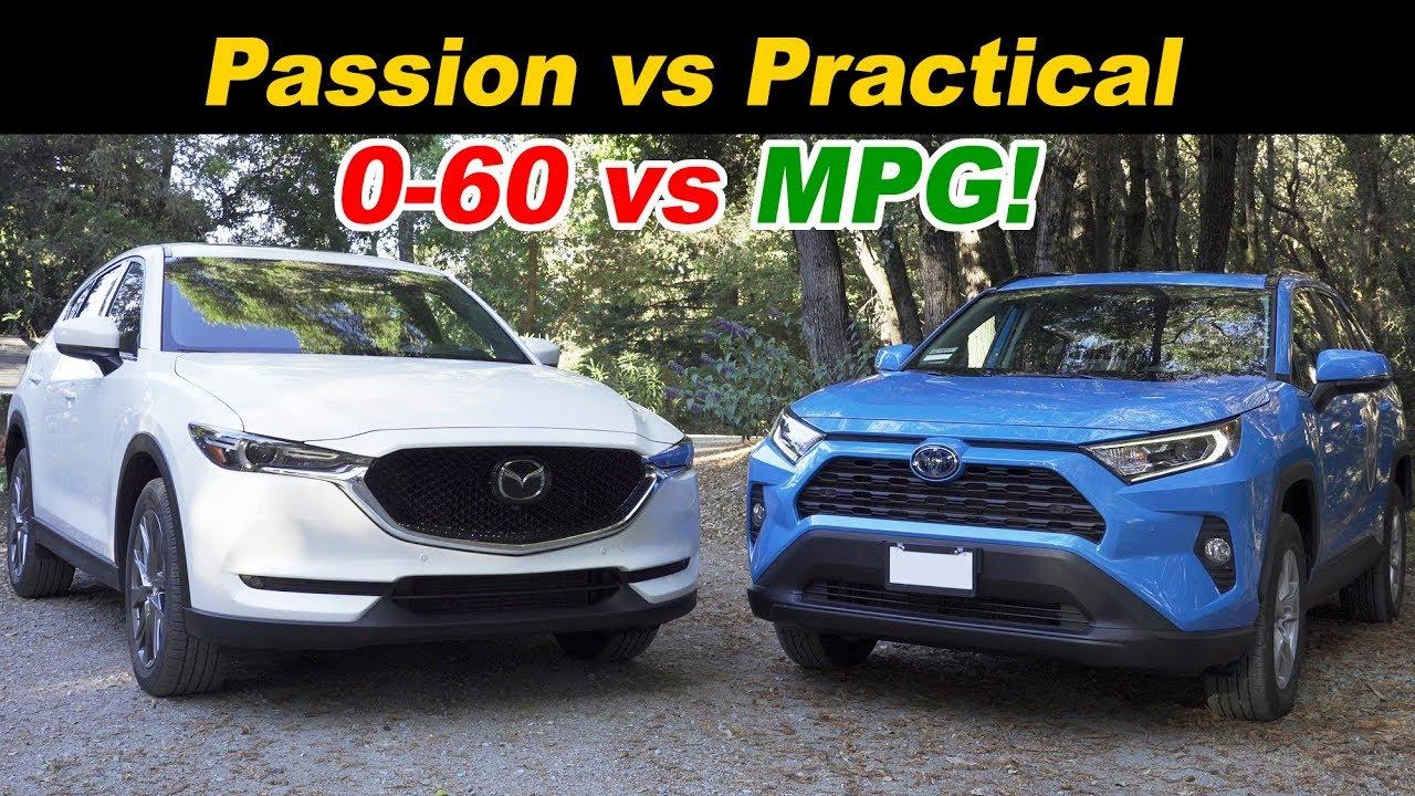 Cx5 Vs Rav4 >> Mazda Cx 5 Turbo Vs Toyota Rav4 Hybrid Top Picks Face Off