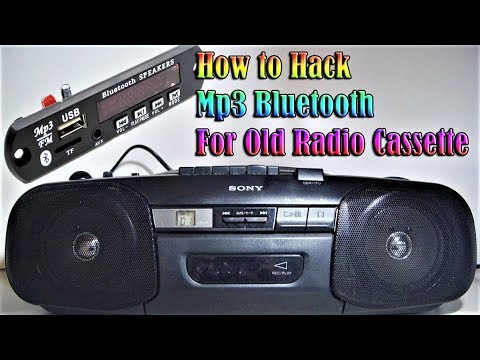 Three Ways To Hack Mp3 Bluetooth For Old  Radio Cassette Tapes