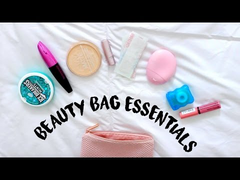 Beauty Bag Essentials for School! | Reese Regan