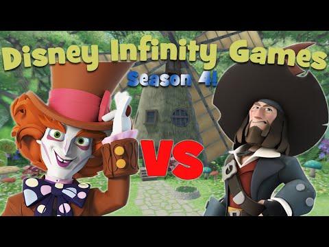 Disney Infinity Games - Season 4: Mad Hatter vs. Barbossa