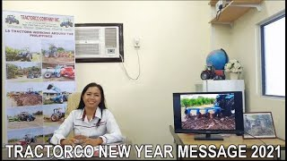 TRACTORCO - New Year Message 2021