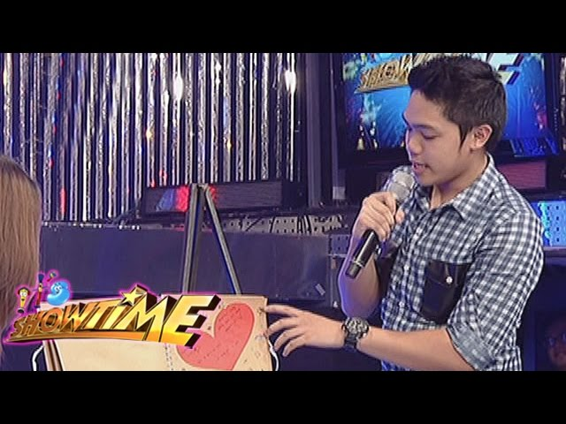 It's Showtime: JESStice League inspired message to Pastillas Girl