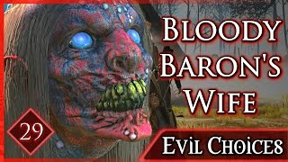 Witcher 3 ► The Bloody Baron and his Wife Die - What Happens When You Free the Tree Spirit #29