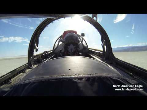 Jessi Combs Sets Womens' 4-Wheel Land Speed Record