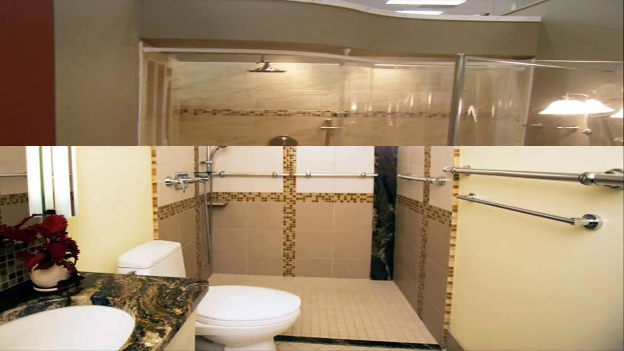 Small Handicap Bathroom Designs - YouTube on ada wheelchair house design, wheelchair-accessible home design, small 3 bedroom 2 bath house plans,