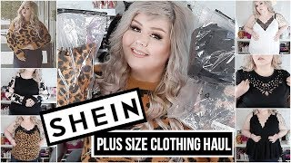10de92791d35 Shein Plus SIze Clothing Try On Haul 2019 - Vloggest