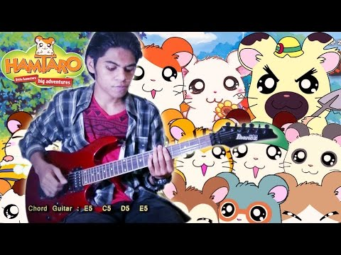 Opening OST Hamtaro Versi Indonesia Guitar Cover By Mr. JOM Mp3