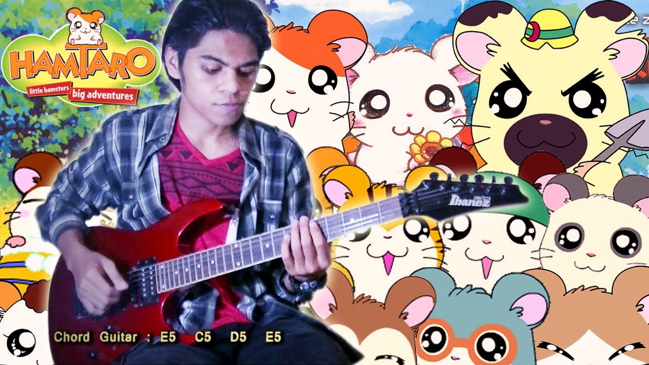 opening ost hamtaro versi indonesia guitar cover by mr jom chords chordify. Black Bedroom Furniture Sets. Home Design Ideas