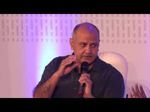 In conversation with Manish Sisodia- Panel discussion at The Bridge Talks