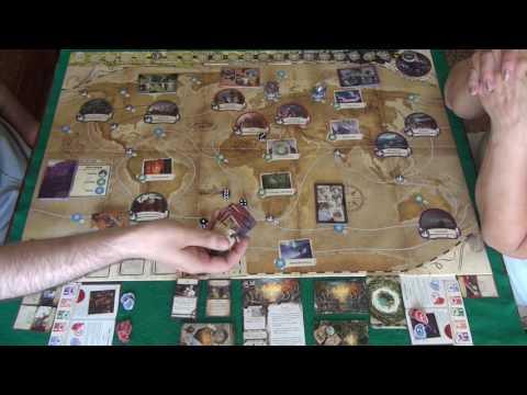 Древний Ужас 1/2 - играем в настольную игру