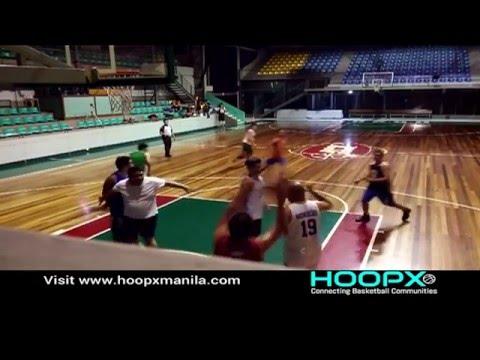 HoopX Manila - Basketball Pickup Game at JCSGO Gym Week 2