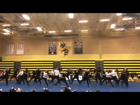 Bishop moore catholic high school dance team 2013