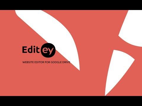 Editey - Getting Started