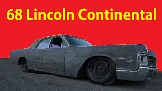 1968 Lincoln Continental Suicide Door Classic Car Video #stance