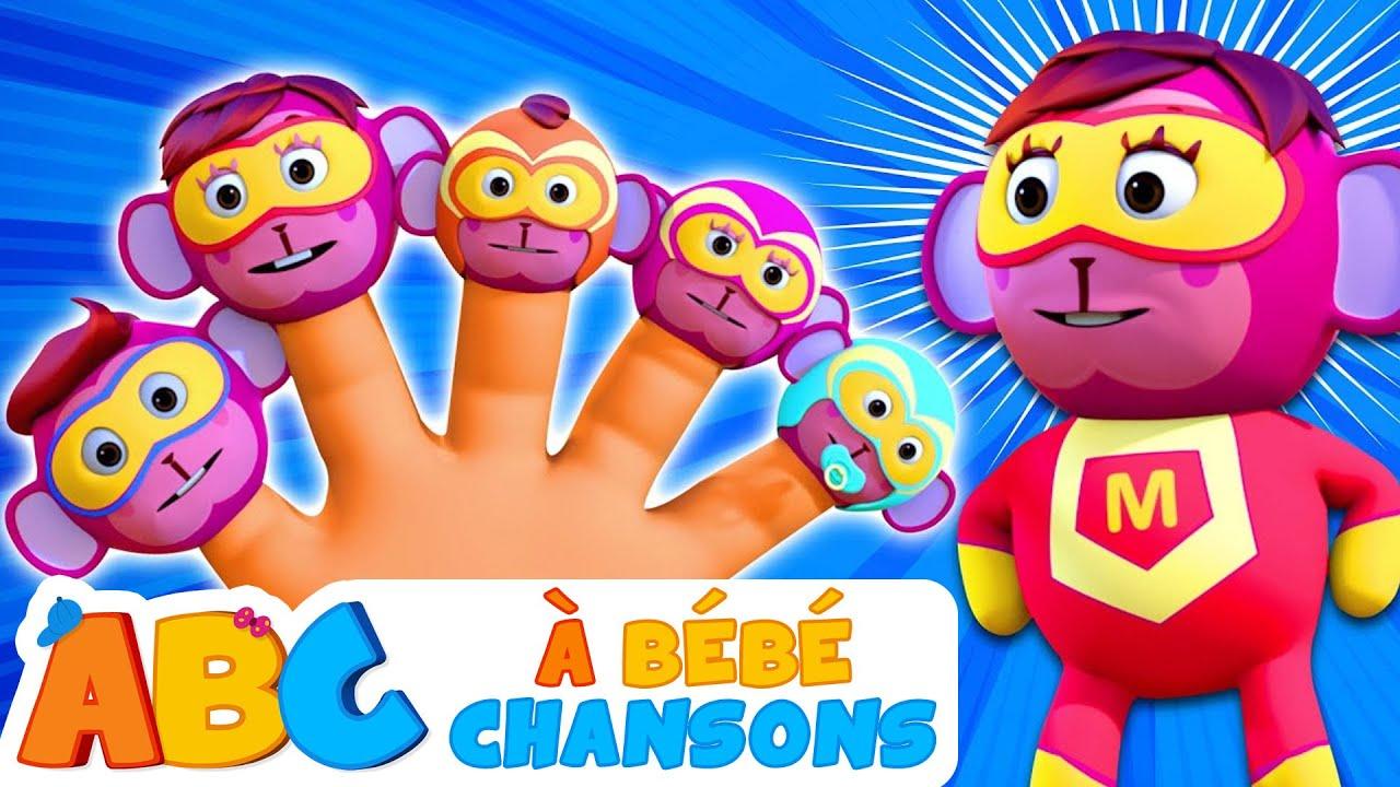 Famille de doigts de SUPER-HÉROS | Comptines Pour Bébé | À Bébé Chansons