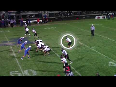 Salem Isaf football senior season highlights I 2016