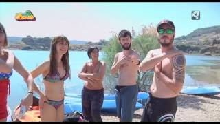 Nos vamos de camping. Aragón TV. Lago Resort (Nuévalos) 2