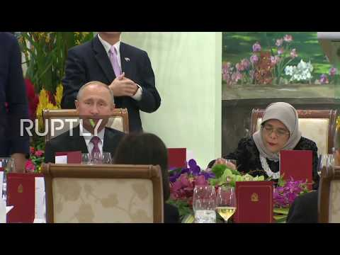 Singapore: Putin and President Yacob praise Russian-Singaporean relations